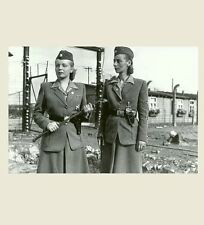 German SS Female Guards PHOTO World War II, Prison Camp Women