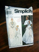 Oop Simplicity 8176 Jessica McClintock Wedding Dress traditional size 16-20 NEW