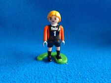 Playmobil Mujer Futbolista tricot negro  female soccer player black trikot