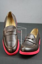 THOMAS DEAN * ITALY * CLASSIC PENNEY LOAFER IN BROWN CALF * EU 43 / US 10