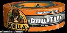 Silver Gorilla Glue Tape All Weather Duct Outdoor Large Roll 6074004 1.88 X 35YD