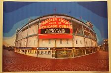 "Chicago Cubs Wrigley Field Art 36"" x 24"" Poster World Series Baseball Game"