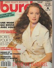 Magazine Burda N°4 Avril 1992 patrons couture