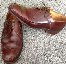 Trickers 'Corniche' brown leather lace up shoes U.K 7