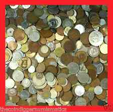 ✯ WORLD FOREIGN COIN LOTS UNSEARCHED 1 POUND + FREE BANKNOTE ✯