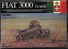 Tauro Models 1/35 FIAT 3000 1st Series Italian Renault FT-17 Tank