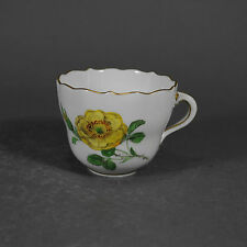 Meissen Mokkatasse Tasse Blumen Blume flowers flower mocha cup porcelain