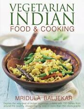 Vegetarian Indian Food & Cooking: Explore the very best of Indian vege-ExLibrary