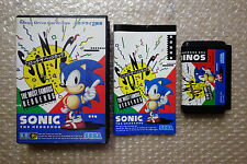 "Sonic the Hedgehog ""Very Good Condition"" Sega Megadrive Japan"