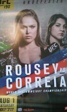 UFC 190 Poster Rousey  vs  Correia- New - 18 x 24