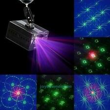 Rotate 48 Pattern Laser Projector Stage Lighting Party DJ Disco LED Flash Light