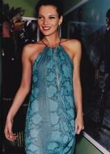 Gucci SS 2000 Tom Ford Collection Blue Python Print Runway Dress 38 uk 6-8