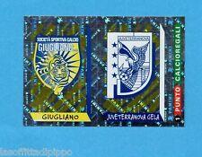 PANINI CALCIATORI 2000- Figurina n.739- GIUGLIANO+JUVE TERRAN-SCUDETTO-NEW+PUNTO