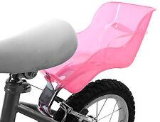 BAMBOLA DOLLY BABY SEAT CARRIER PER BICICLETTA MONTAGGIO UNIVERSALE PER TELAIO IN PLASTICA ROSA