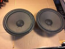 "Pair of Vintage Acoustic Research 12"" Woofers from AR48 BX Speakers 1-2100400B"