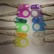 Dummy Clips Suitable For MAM Dummies 6 Colours Available