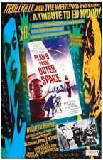 Plan 9 From Outer Space Poster 02 Metal Sign A4 12x8 Aluminium