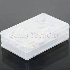 1x Double Layer 6 Slots Beads Charms Craft Organizer Container Storage Box Case