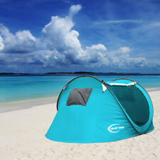 Large Pop Up 3-4 Person Outdoor Hiking Camping Tent Automatic Instant Setup Easy