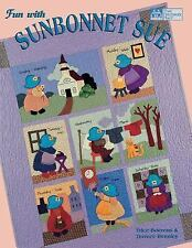 Fun with Sunbonnet Sue by Trice Boerens and Terrece Beesley (1999, Hardcover)