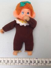 Vintage 70's moncicci'Monchichi Mini Baby Monkey Japan rare