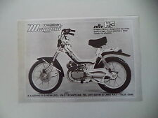 advertising Pubblicità 1978 MALAGUTI FIFTY HF 50