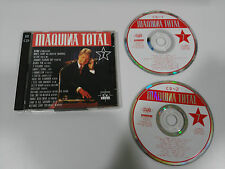 MAQUINA TOTAL 7 - 2 X CD MAX MUSIC 20 TRACKS SPANISH EDITION