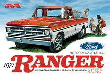 Moebius 1971 Ford F100 Ranger XLT Pickup Truck model kit 1/25