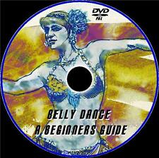 BELLY DANCE BEGINNERS / ADVANCED GUIDE GREAT DANCING LESSONS  NEW FITNESS DVD