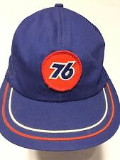 Vintage 76 Gas Station Hat 1980s Union Unocal  With Patch