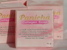 COLLAGEN HERBAL SOAP 100% NATURAL PRODUCT 60g FREE INTERNATIONAL POSTAGE