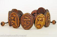 "Armband Mantra des Mitgefühls ""OM MA NI PE ME HUNG"" Buddhismus Handicraft 138c"