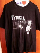 STEVE TYRELL lrg autograph T shirt Standard Time jazz tour 2001 concert tee OG