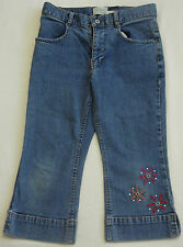 GAP Girls Capri Stretch Jeans - Size Age 8 Years - Brand New Without Tags
