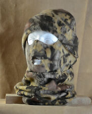Camouflage (BN) Winter Fleece Face Mask, Hat and Neck Gator/Muff Combo