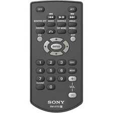 Sony Rm-X170 rmx170 Brand New Genuine Sony Remote control Xav-63/64/65