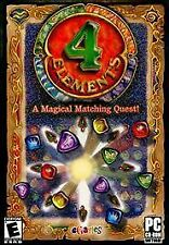 Video Game PC 4 Elements A Magical Matching Quest 2009 eGames NEW