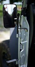 JustAddMud Jeep TJ Door Hinge Mirrors & Foot Pegs Package! (1996-2006)