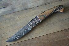 Manu Laplace 1515 Modell Skull Messer Gürtel und Holster eine Reise durch Europa