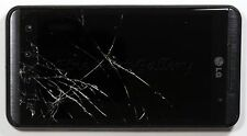 OEM AT&T LG THRILL OPTIMUS 3D P925 REPLACEMENT-WORKING LCD-CRACKED DIGI-FRAME