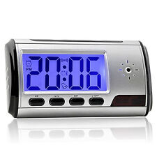 Secret Video DVR Digital Alarm Clock spy Nanny Camera Recorder Motion Detector N