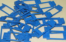 LEGO LOT OF BLUE HORSE HITCHING ANIMAL ACCESSORIES PIECES