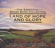 [NEW] 2CD: LAND OF HOPE AND GLORY: THE ESSENTIAL BRASS BAND COLLECTION