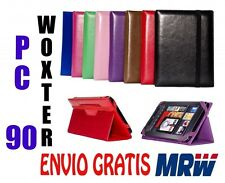 "FUNDA PARA TABLET  WOXTER PC 90  9"" - MEDIDA ESPECIAL - 8 COLORES - UNIVERSAL"