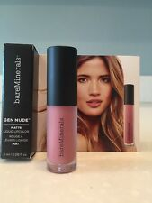 BareMinerals Gen Nude Matte Liquid Lipcolor Lipstick SWAG Travel Size NEW!