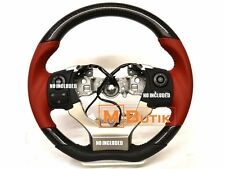 Carbon fiber Red Leather steering wheel  for Lexus IS250 IS350 RC250 RC350 RCF