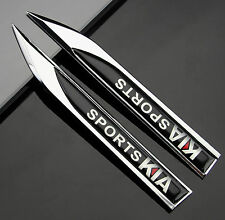 2pcs Metal K1 K2 K3 Emblems Decal Badge Sticker for Auto Fender modification hot