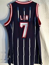 Adidas Swingman NBA Jersey Houston Rockets Jeremy Lin Navy HWC sz 2X