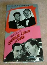 Charlie Chan in Rio VHS 1941 Sidney Toler Play Tested