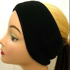 Winter Mens Womens Fleece Earband Stretchy Headband Earmuffs Ear Warmers